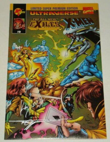 Exiles vs. X-Men #0 Signed w/ COA Super Premium American Ent 1995 Ultraverse