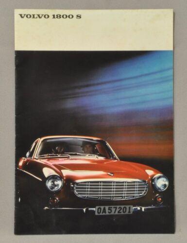 Volvo 1800S Brochure.