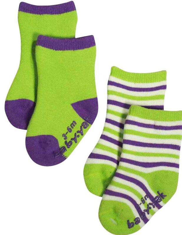 Mack the Yak Newborn Infant Baby Boys Sets Pack of 2 Bootie Socks