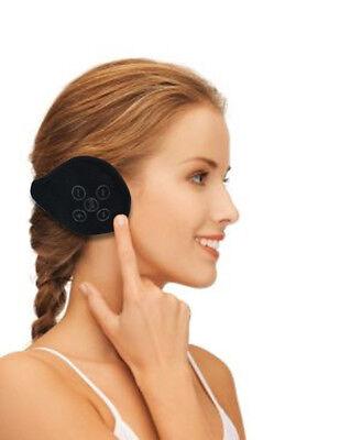 Bluetooth Wireless Headphone Fleece Earmuffs - Black