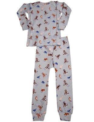 Spudz Toddler and Little Boys Long Sleeve Cotton Pajama Sleep Set](Little Boys Pjs)