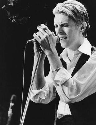 8x10 Print David Bowie 1976 #DB34