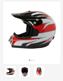 Moto cross bmx helmet bike kids brand new