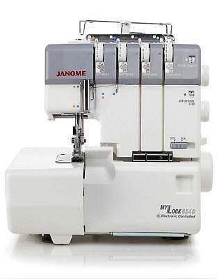 - Janome MyLock 634D Overlock Serger Machine Refurbished