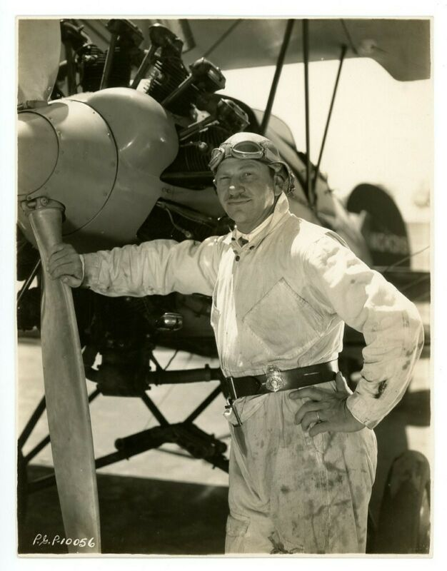 WALLACE BEERY original movie photo 1920s