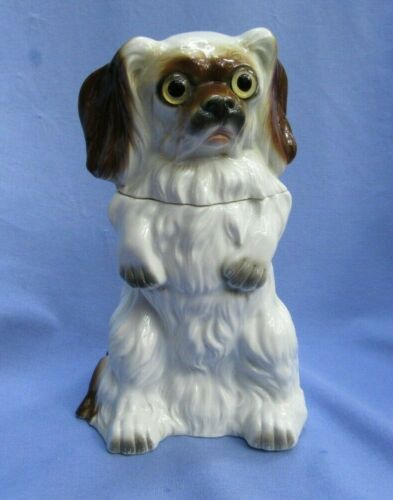 "CAVALIER KING CHARLES SPANIEL PERFUME LAMP GERMANY 7"" DOG"