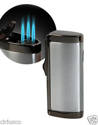 Best Cigar Lighters (Guardsman Triple Flame Butane Torch Cigarette Cigar Lighter - Best Value )