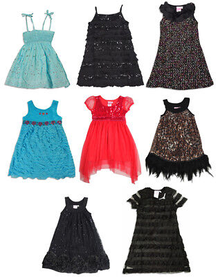 Lipstik Girls Clothes (Lipstik Toddler and Little Girls Party Dress for Day, Evening or)