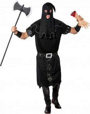 Hommes Foncé Bourreau Historique Journée Du Livre Halloween Costume (Kostüm Halloween Bourreau)