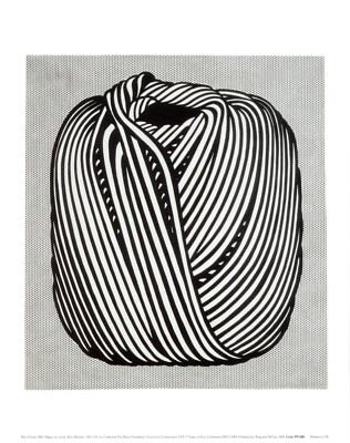 Ball of Twine, 1963 by Roy Lichtenstein Art Print Pop Poster 11x14