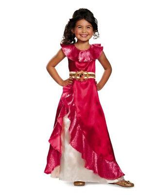 Elena der Avalor Adventure Kleid Klassisch Kinder Disney Halloween Kostüm