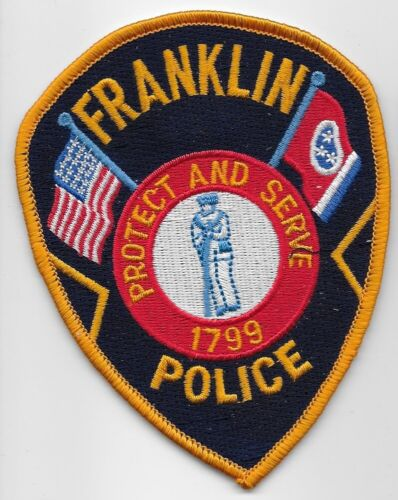 Franklin Police State Tennessee TN Colorful older style