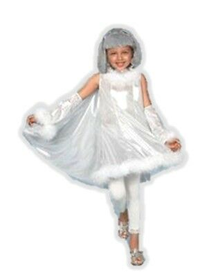 Princess Paradise Shooting Star Shiny Silver Costume Dress with Cape Diva SM-MD - Shooting Star Halloween Costume