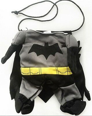 Pet Small Dog Cat Bat Costume Outfit Jumpsuit for Halloween - Pet Bat
