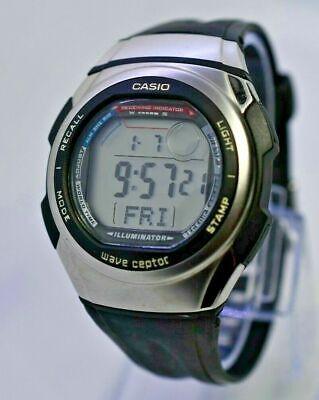 Men's Casio Wave Ceptor WV-57H Watch, World Time, Illuminator, Alarm