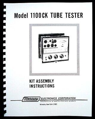 Mercury 1100ck Tube Tester Assembly Manual