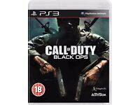 Call Of Duty Black Ops & Call of Duty Modern Warfare 2 PS3 Games