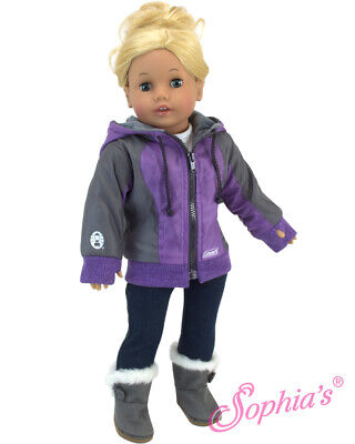 Jacket Coleman® Nylon Hooded Sophia's® 18