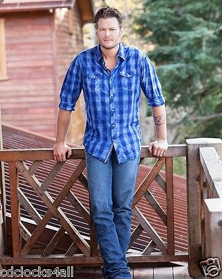 Blake Shelton 8 x 10 GLOSSY Photo Picture IMAGE #9