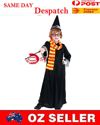 NEW Halloween Boy Kids Fancy Dress Dress up Party Cosplay Harry Potter Costume