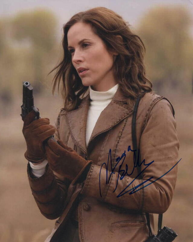 MARIA BELLO SIGNED AUTOGRAPH 8X10 PHOTO - THE MUMMY, A HISTORY OF VIOLENCE, NCIS