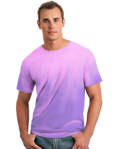 NEW Global Technacolour Purple to Pink  Hypercolor Color Change T shirt  SMALL