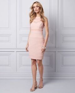 Sparkle Pink Dress Bodycon