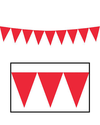 Apple Red Pennant Banner 4.5m One Size Ams Apple