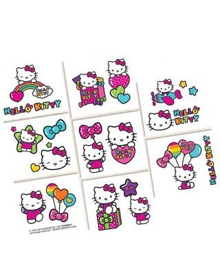Girl Birthday Party Ideas (Hello Kitty Tattoos - Hello Kitty Birthday Party Supplies Loot Bag Ideas -)