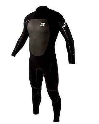 Body Glove Wetsuit Fusion Black Gold Men's 0 1/16in Wet Suit Kite Surfing