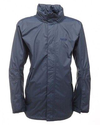 Regatta Trentham Mens Navy Waterproof Breathable Hooded Jacket