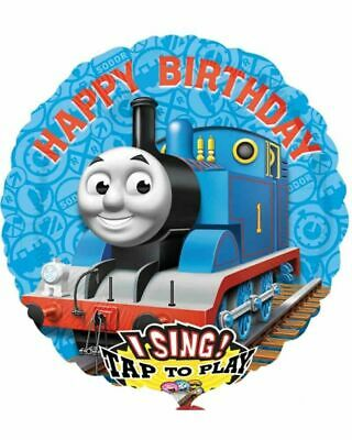 Large Thomas & Friends Singing Foil Balloon Tank Engine Kids Birthday Party
