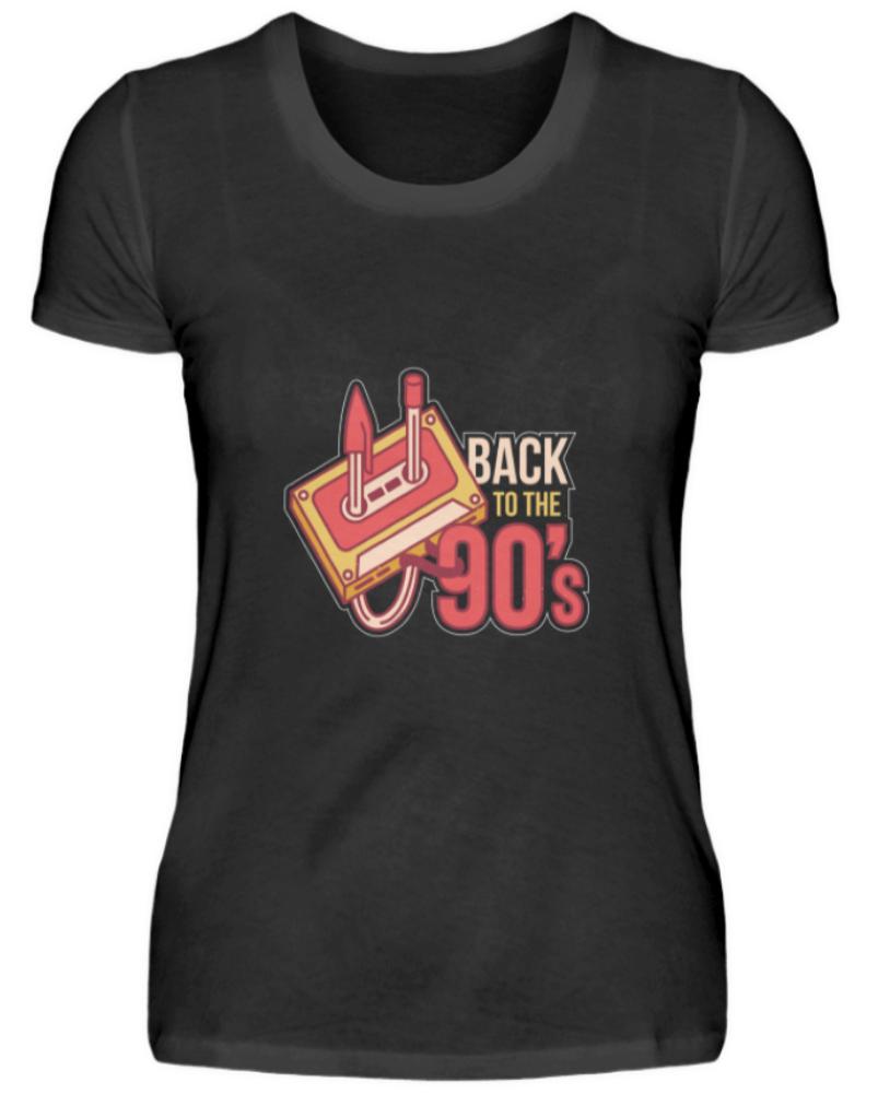 90s 90er Jahre Motto Party T-Shirt Damen 1990er 90's Neunziger Outfit Geschenk