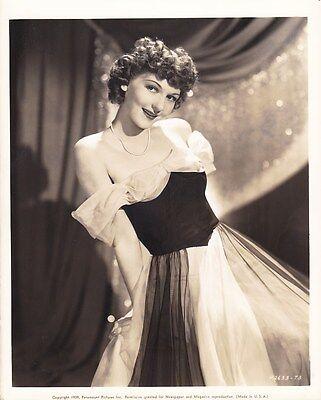 MARY MARTIN Strapless Dress ORIGINAL Vintage 1939 Paramount DBW Portrait Photo