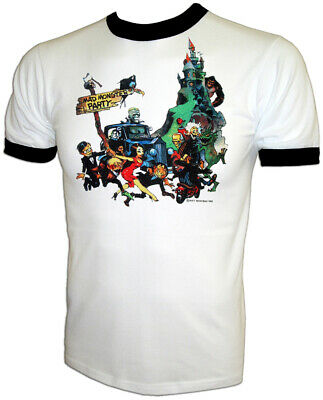 70s Mad Monster Halloween Party Rankin Bass Franzetta vtg Iron-On UNUSED T-Shirt