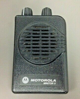 Motorola Minitor 5 Pager Only Model A03kms9239bc Vhf 2 Ch Sv Ex Cond.prog