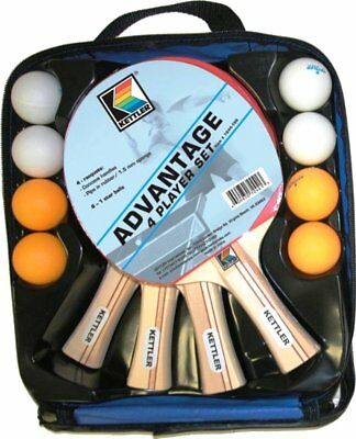 Kettler Advantage 4-Player Table Tennis Set