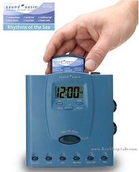 Sound Oasis Sleep Sound Therapy System Ocean Sounds Sleep Machine Alarm Clock r