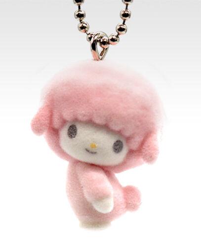 Takara Tomy Sanrio My Melody & Friends Piano Flocked Keychain Mascot Y860409 USA