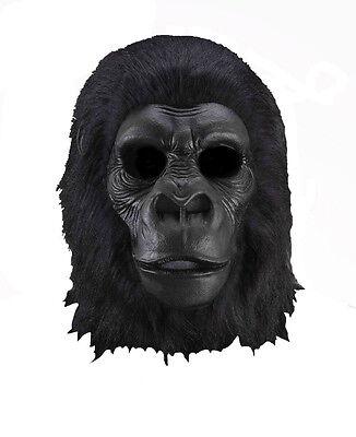 Adult Latex Full Head Gorilla Great Ape Monkey Bigfoot Costume Mask - Bigfoot Masks