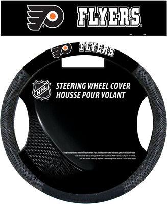 Philadelphia Flyers Poly-Suede Steering Wheel Cover - NHL Li