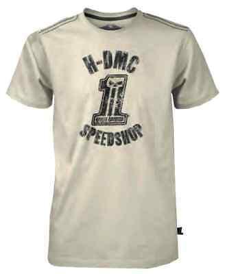Harley-Davidson Men's Black Label Speed Shop Short Sleeve T-Shirt Cream 30291528 ()