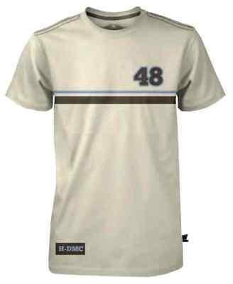 Harley-Davidson Mens Black Label Racing Stripe Short Sleeve T-Shirt Tan 30291531 ()