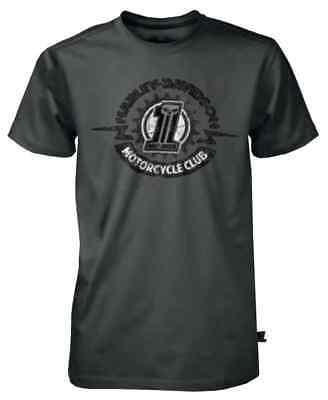 Harley-Davidson Men's Black Label Sprocket Short Sleeve T-Shirt - Gray 30291532 ()