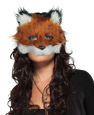 Herren Damen Herr Fuchsmaske Maskenkostüm Pelzig Gesicht Maske NEU