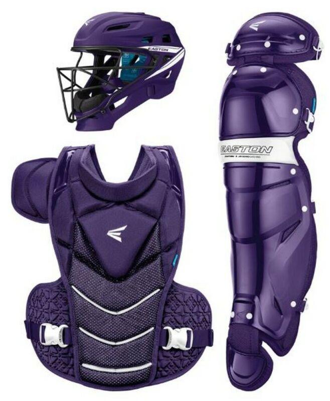 Easton Womens Jen Schro Catchers Gear Fastpitch Softball Protective (Purple, M)