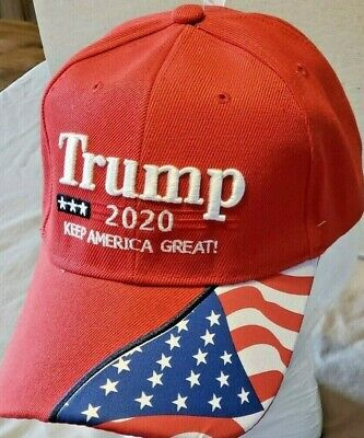 Crimson Embroidery - Trump 2020