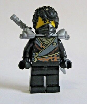 Lego COLE REBOOTED Ninjago Minifigure 70720 70723 with Armor - Cole Ninjago