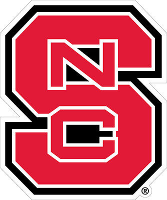 NC STATE Wolfpack Large Cornhole Decals / SET of 2 ()