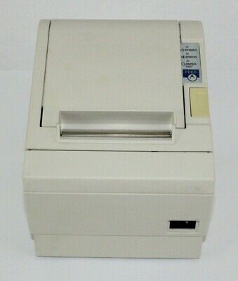 Epson Tm-t88iii Pos Point Thermal Receipt Printer M129c Rs232 No Ac Adapter
